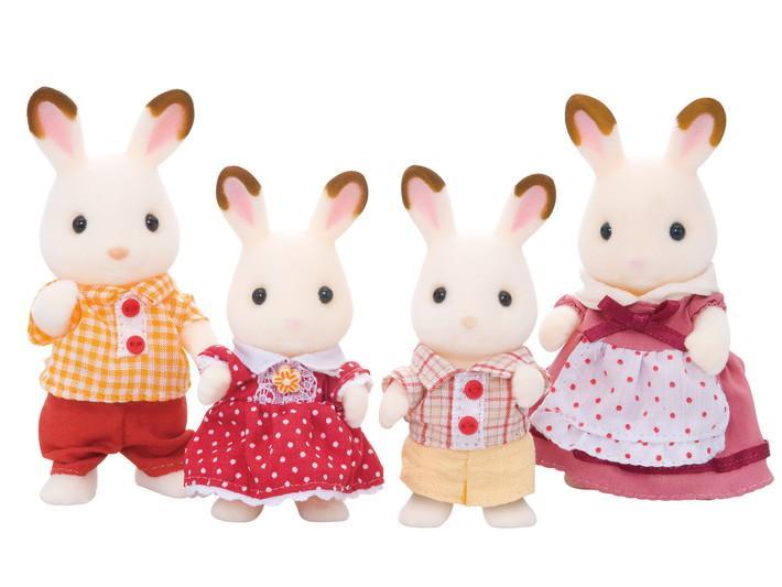 Familia Conejos Chocolate