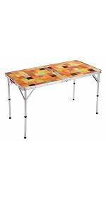 コールマン(Coleman) テーブル ナチュラルモザイクリビングテーブル 120プラス 2000026751