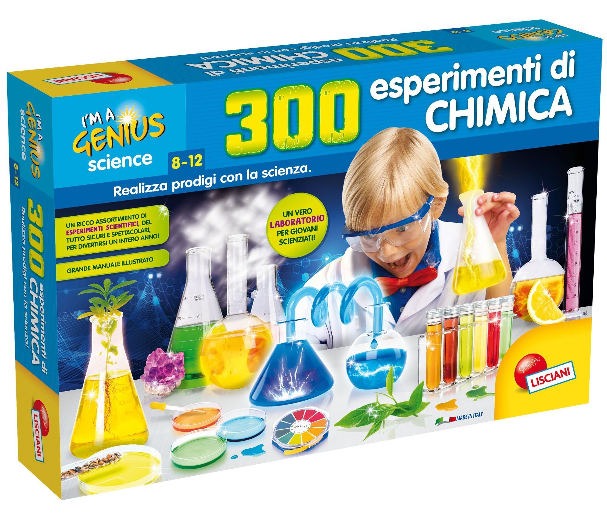 Molto Lisciani Giochi 62362 Gioco I'm a Genius 300 Esperimenti di  AR47