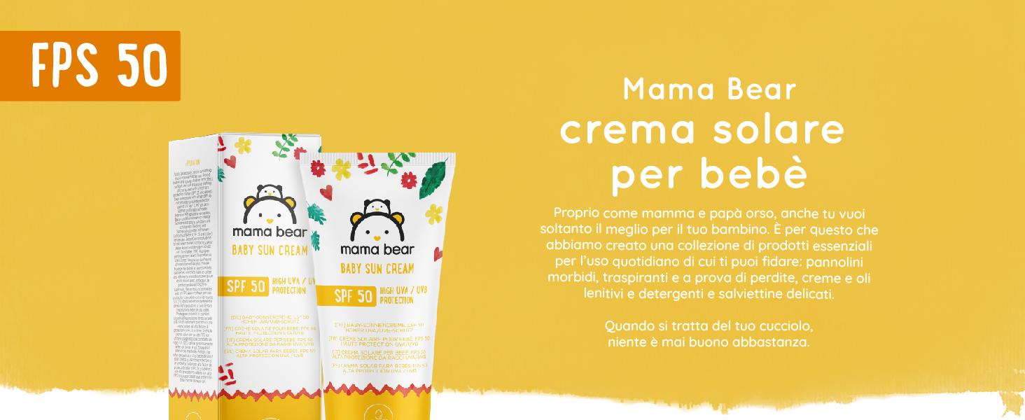 960851269994 Marchio Amazon- Mama Bear - Crema solare per bebè FPS 50 (Alta ...