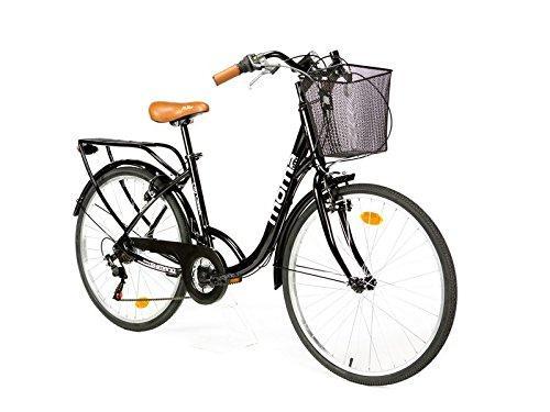 "Moma Bikes Bicicleta Paseo City Classic 26"", Aluminio"