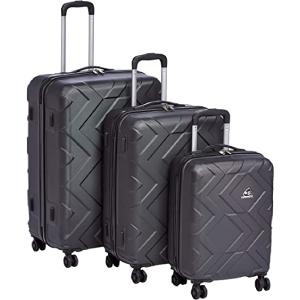 Kamiliant Ohana Set of 3, Hard Luggage Trolley Bags, with Number Lock, 55+65+78cm, Grey