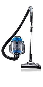 AmazonBasics – Potente aspirador de cilindro sin bolsa, para suelos duros y alfombras, filtro HEPA, compacto y ligero, 700 W, 2,0 l (UE): Amazon.es: Hogar