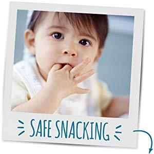 Fun to pick up and crunch, Lil' Crunchies will quickly soften in your little one's mouth.