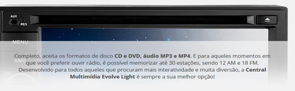 CD, DVD, Audio e MP4