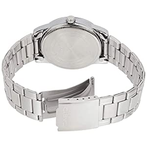 Casio Stainless Steel Round Watch For Men - MTP-V001D-7BUDF