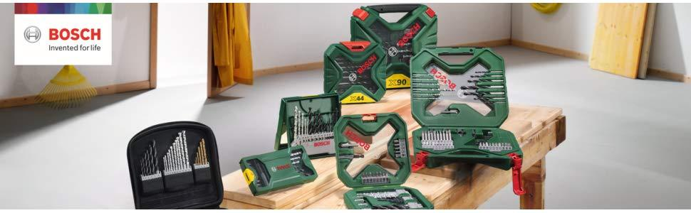 Bosch 2607010527 Wood Twist Drill Bit-SetRobust Line 4-10mm 5 Pcs