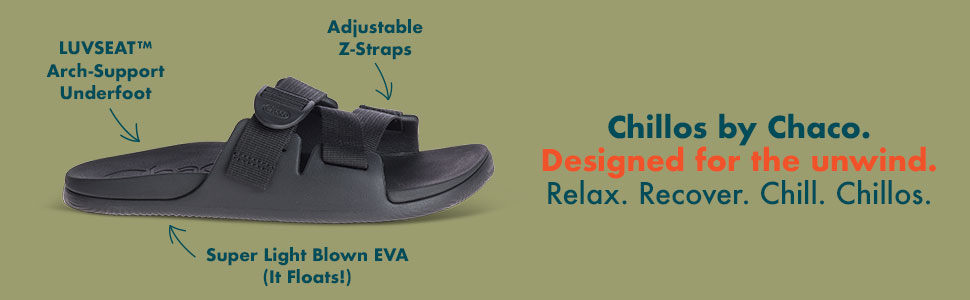 Amazon.com | Chaco Men's Chillos Slide Sandal | Sport Sandals & Slides