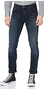 Tommy Jeans Hombre Slim Tapered Steve Cobco Jeans