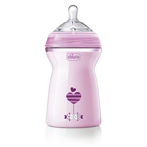 Chicco 330ml Natural Feeling Feeding Bottle