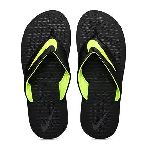 new concept be619 86b85 Nike Men's Chroma 5 Black Flip Flops Thong Sandals-8 UK/India (42.5EU)  (833808-013)