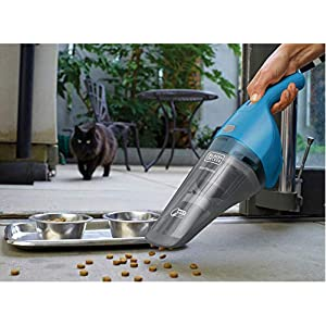 Black+Decker 3.6V 5.4Wh Lithium-ion Cordless Wet and Dry Dustbuster/Hand Vacuum Cleaner