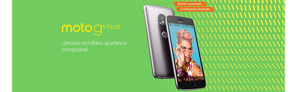 Motorola Moto G G5 Plus SIM doble 4G 32GB Gris: Amazon.es: Electrónica