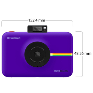 Polaroid Snap Touch Camera And Mobile Printer Purple