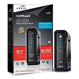 Amazon Com Arris Surfboard Sbg6580 2 8x4 Docsis 3 0 Cable