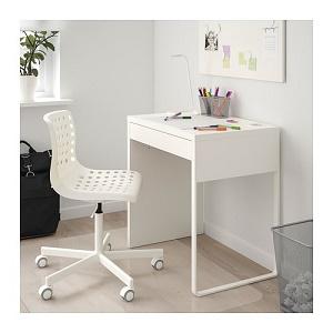 Amazon Com Ikea Micke Desk White Furniture Decor