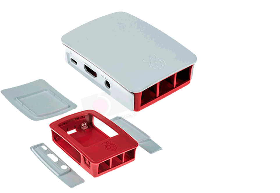 Raspberry Official Case for Pi 3 (and Pi 2/B+): Amazon.es: Informática