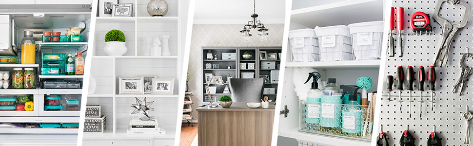 Beautifully Organized Bookshelf