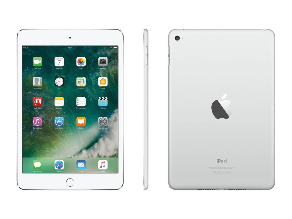 Apple iPad Mini 4 128GB Wi-Fi - Silber: Amazon.de