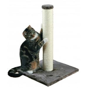 trixie parla scratching post 62 cm platinum grey - Cat Scratching Post