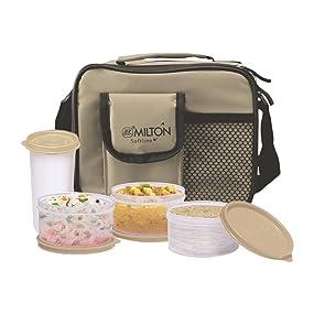 Buy Milton Meal Combi Plastic Lunch Box Set Grey Online