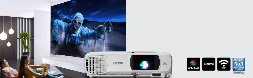 Epson EH-TW650 Home Projector: Amazon.in: Electronics