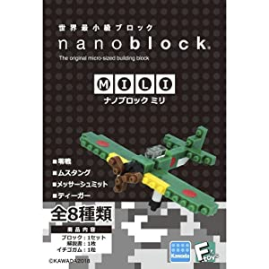 ナノブロックミリ
