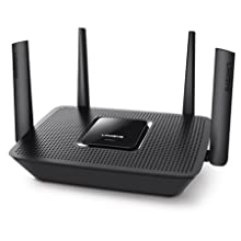 Linksys EA8300 Max-Stream AC2200 Tri-Band Wi-Fi Router, Black