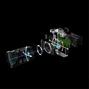 最大6.5 段の補正効果を実現する新開発の小型手ぶれ補正機構