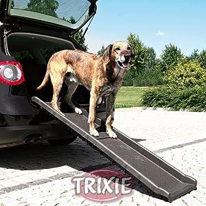 La rampa ayuda a cuidar de las articulaciones de la mascota, sobre todo de la cadera y la zona de la columna vertebral. Esto es altamente recomendable para ...