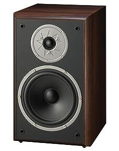 Magnat Monitor Supreme 202 - Altavoces de estantería (Hi-Fi, 93 dB, 100 W RMS), Color marrón