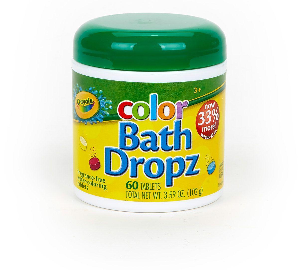 Crayola Color Bath Dropz 3 59 Ounce 60 Tablets Amazon