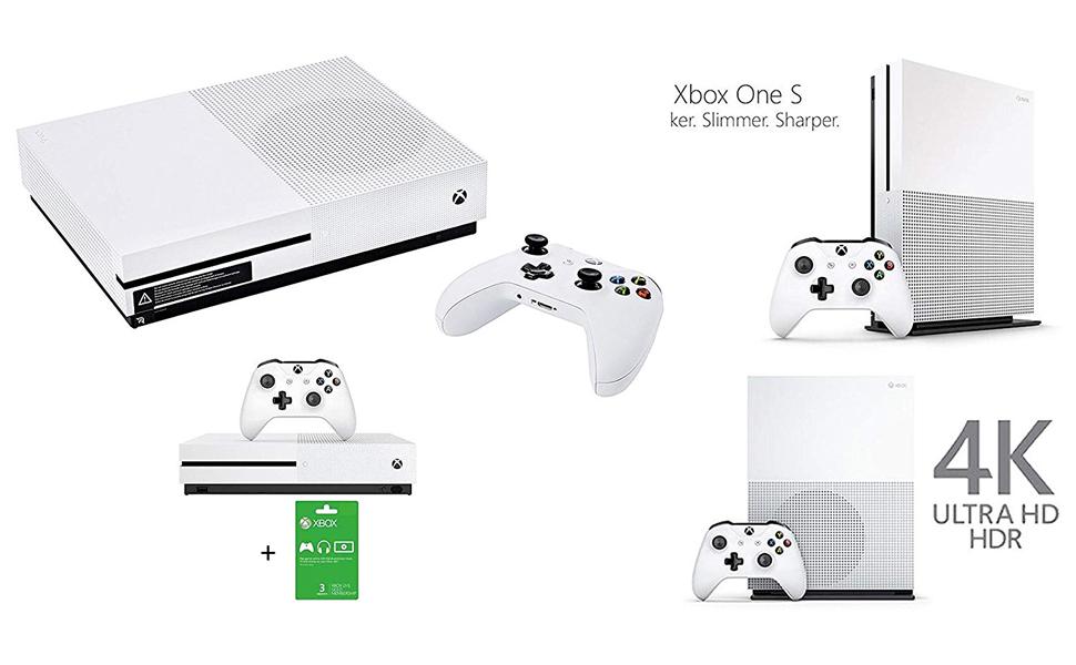 Microsoft Xbox One S 1 TB – White