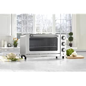 Amazon Com Cuisinart Tob 60n1 Toaster Oven Broiler With
