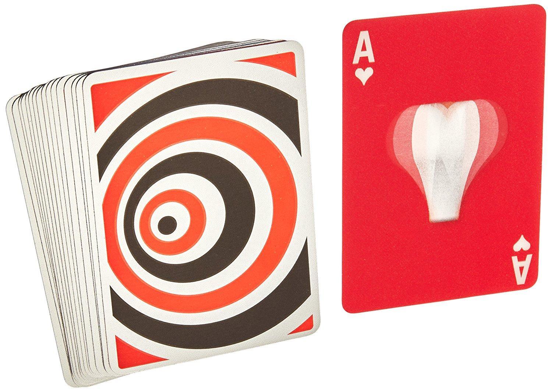 Amazon.com: Kikkerland Motion Playing Cards: Toys & Games