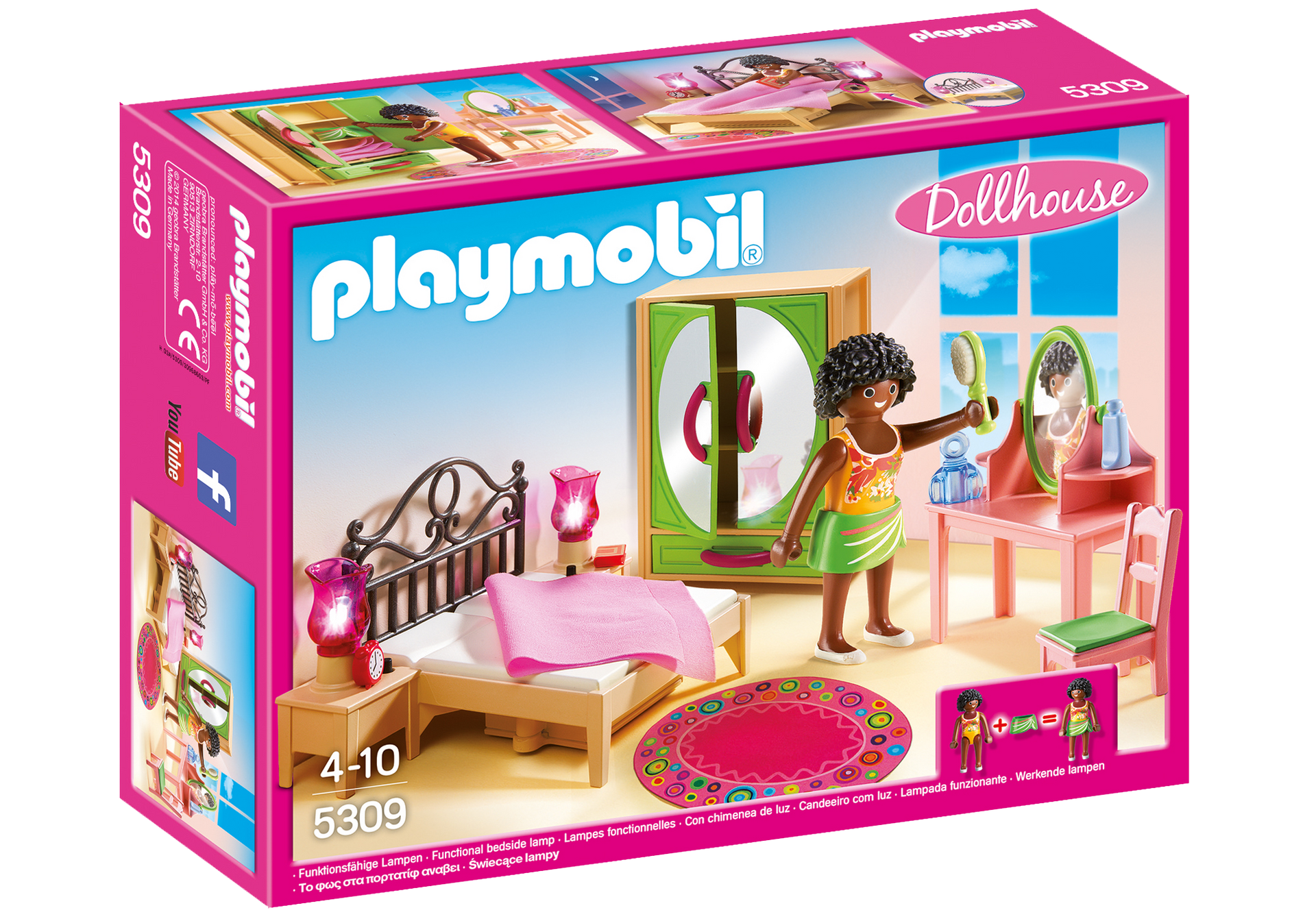 Playmobil 5309 - Camera da Letto con Specchiera: Amazon.it: Giochi e ...