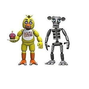 Five Nights at Freddys Pack de 4 Figuras Set (2''): Amazon