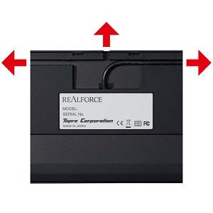 東プレ REALFORCE R2 日本語108配列 静電容量無接点方式 USBキーボード  レーザー刻印 かな表記なし ブラック R2-JP4-BK