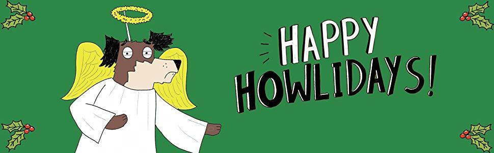 Happy Howlidays header