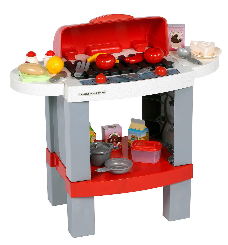 Chicos cocina bbq deluxe 2 en 1 f brica de juguetes 85013 for Fabrica de utensilios de cocina