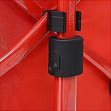キャンパーズコレクション エブリデイキャリー ハンドルの長さは両サイドのボタンで調節可能
