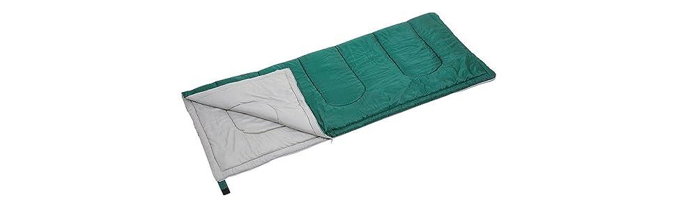 寝袋 プレーリー シュラフ きゃぷすた アウトドア用 キャプテンスタッグ グリーン