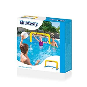 Bestway 52123 - Portería Hinchable Water Polo 66x137 cm: Amazon.es ...