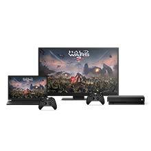 Microsoft Xbox One X - 1 TB with 1 Controller - Black