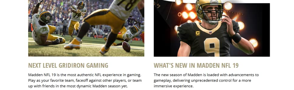 Amazon com: Madden NFL 19 - PlayStation 4: Electronic Arts