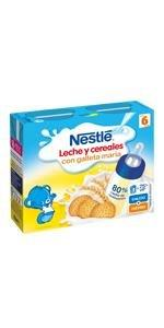 Nestlé Leche y cereales Galleta ...