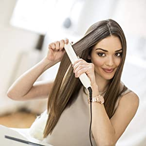 Remington S9100 Proluxe Hair Straighteners - Rose Gold