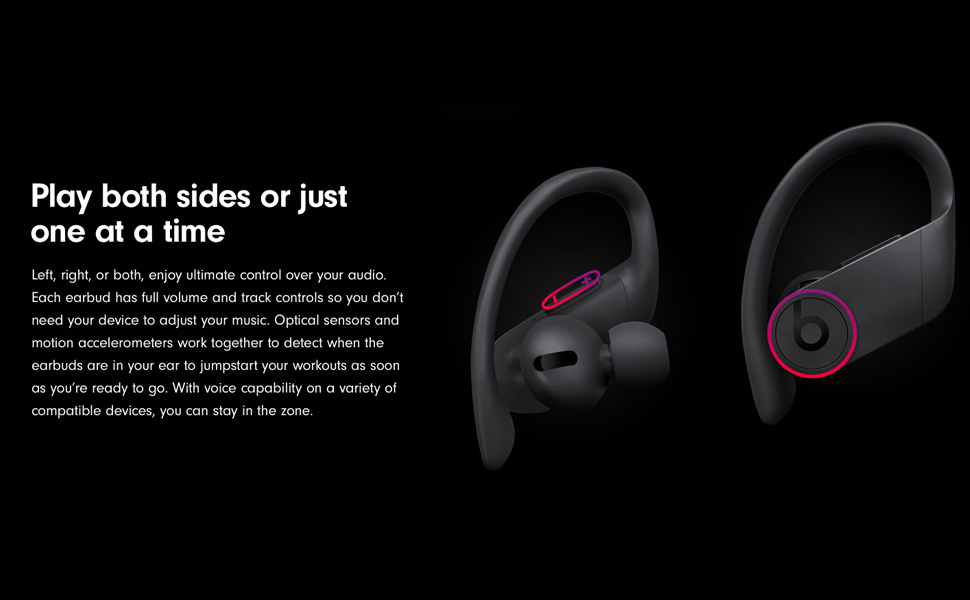 Beats Powerbeats Pro MV6Y2 Totally Wireless Earphones - Black
