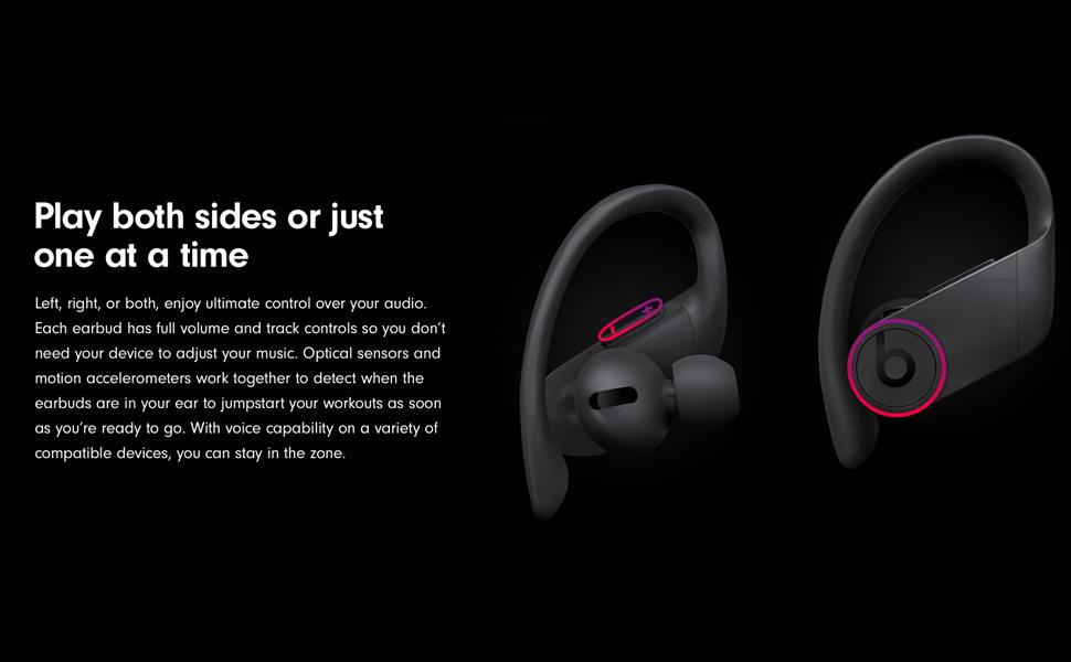 Beats Powerbeats Pro MV6Y2 Totally Wireless Earphones - Black