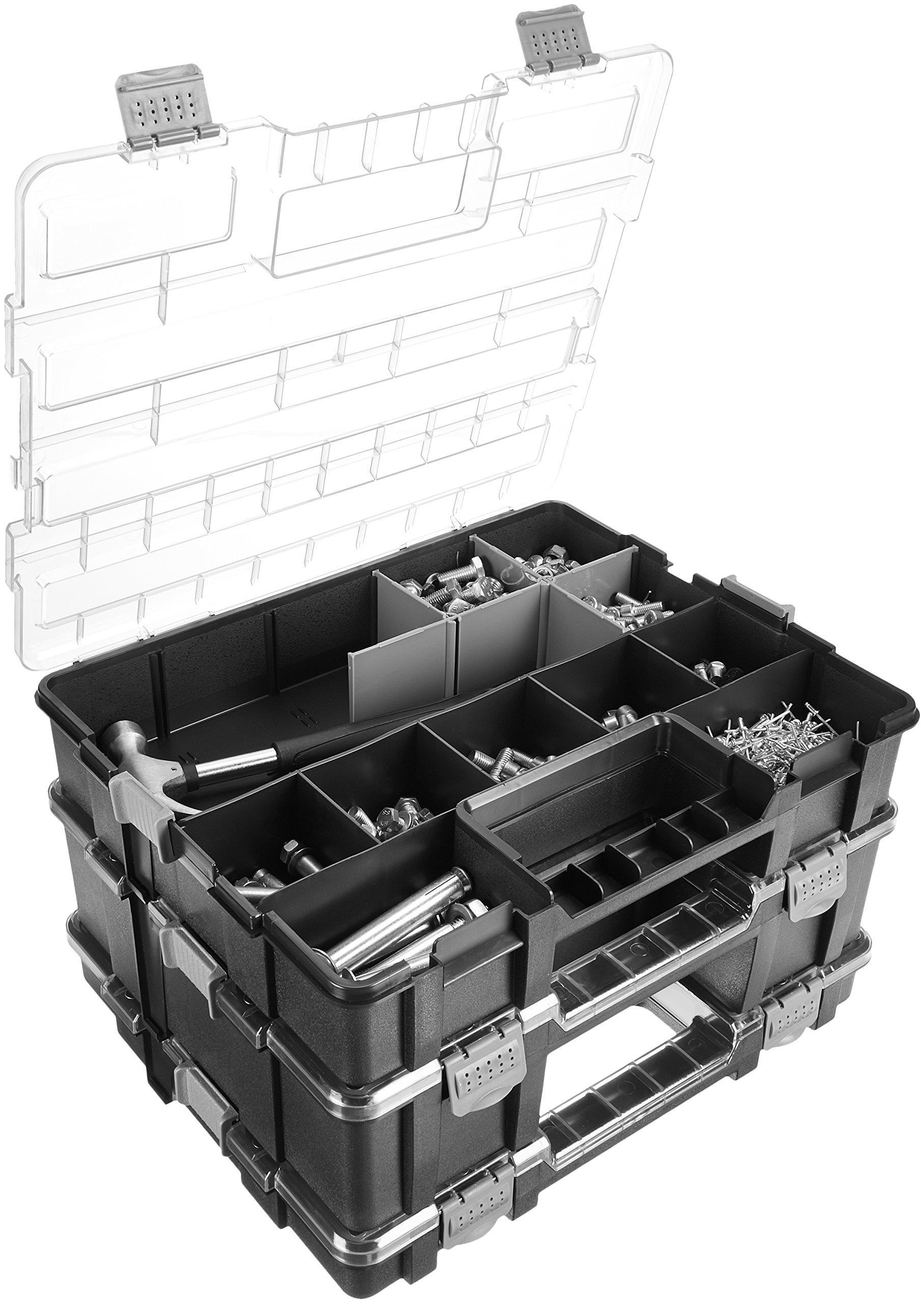 Sortimo T-Boxx STB G 16STK H63 Includes 16 Inset Storage Bin Organizer For Organizing Tools Small Parts Screws Nuts Bolts Hardware Electronic Components